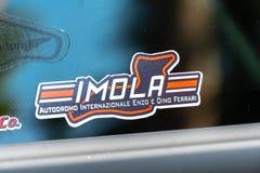 伊莫拉电路的商标 向量例证