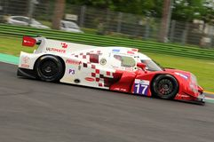 伊莫拉,意大利2016年5月13日:最后FRA Ligier JS P3 -在伊莫拉榆木回合的日产2016年 库存照片