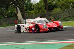 伊莫拉,意大利2016年5月13日:最后FRA Ligier JS P3 -在伊莫拉榆木回合的日产2016年 免版税库存照片