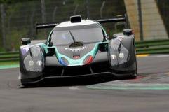 伊莫拉,意大利2016年5月13日:PANIS BARTHEZ竞争FRA Ligier JS P3 -在伊莫拉榆木回合的日产2016年 库存图片