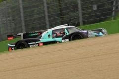 伊莫拉,意大利2016年5月13日:PANIS BARTHEZ竞争FRA Ligier JS P3 -在伊莫拉榆木回合的日产2016年 库存照片