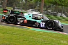 伊莫拉,意大利2016年5月13日:PANIS BARTHEZ竞争FRA Ligier JS P3 -在伊莫拉榆木回合的日产2016年 免版税库存图片