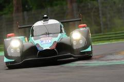 伊莫拉,意大利2016年5月13日:PANIS BARTHEZ竞争FRA Ligier JS P3 -在伊莫拉榆木回合的日产2016年 免版税库存照片