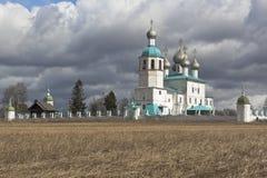 伊莱贾寺庙在镇Kadnikov Sokolsky区附近的先知 免版税图库摄影