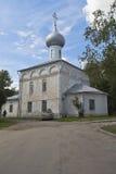 伊莱贾教会先知在市沃洛格达州,俄罗斯 免版税库存图片