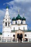 伊莱贾教会先知在雅罗斯拉夫尔市 科教文组织世界遗产站点 库存照片