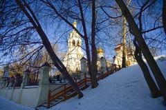 伊莱贾教会先知在Cherkizovo 库存图片