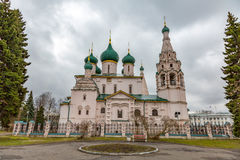 伊莱贾教会先知,雅罗斯拉夫尔市,俄罗斯 免版税库存照片