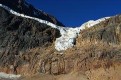 伊迪丝冰川挂接 库存照片
