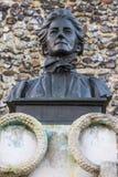 伊迪丝卡夫尔纪念碑在诺威治 库存图片