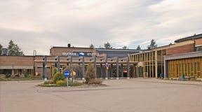 伊马特拉 芬兰 Imatran Kylpyla温泉旅馆 库存图片