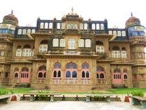 维贾伊维拉斯宫殿- Kutch,古杰雷特,印度 图库摄影