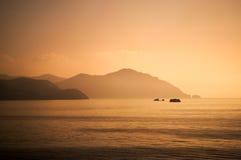 伊维萨岛日出 免版税图库摄影