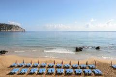 伊维萨岛海滩 库存照片