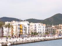 伊维萨岛港口 库存图片