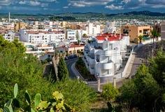 伊维萨岛,西班牙 库存照片