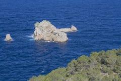 伊维萨岛 库存图片
