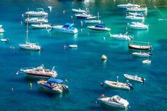伊维萨岛Cala de Sant维森特2013年8月20日:caleta de vicent的圣 免版税图库摄影