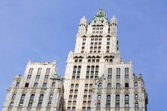 伍尔沃思大厦在纽约 免版税库存图片