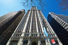 伍尔沃思大厦在纽约 图库摄影