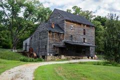 伍德森磨房, Lowesville,弗吉尼亚,美国 免版税图库摄影