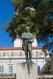 伍德罗・威尔逊雕象 免版税库存图片