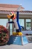 伍迪・啄木鸟雕象 库存图片