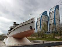 伏尔加格勒,俄罗斯-公寓 免版税库存照片