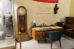 伏尔加格勒,俄罗斯- 2016年11月04日 纪念和历史博物馆内部  免版税库存图片