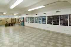伏尔加格勒,俄罗斯- 2016年11月02日 记忆博物馆-安置囚禁法西斯主义的法警保罗斯在二战 库存图片