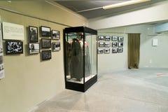 伏尔加格勒,俄罗斯- 2016年11月02日 记忆博物馆-安置囚禁法西斯主义的法警保罗斯在二战 免版税库存照片
