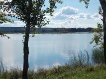 伏尔加河 库存照片
