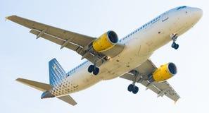 伏林航空飞机着陆 库存图片