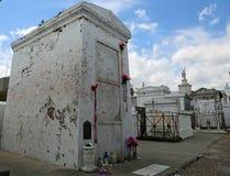 伏都教女王的坟墓 免版税库存照片
