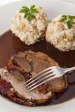 巴伐利亚人烤猪肉 免版税库存图片