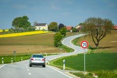 巴伐利亚的领域 免版税图库摄影