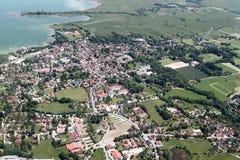 巴伐利亚的鸟瞰图 库存图片