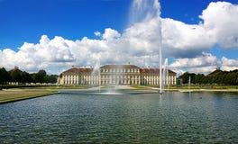 巴伐利亚,德国- Schleissheim城堡 免版税图库摄影