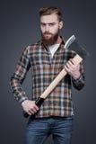 伐木工人样式 免版税库存图片