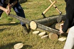 伐木工人 库存图片