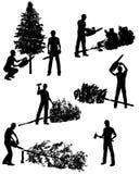 伐木工人 免版税库存图片