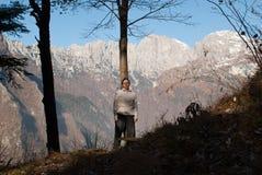 休息在森林 免版税图库摄影