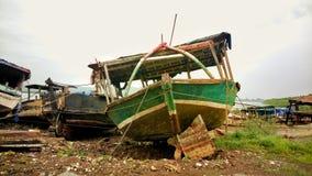 休息的船 免版税库存照片