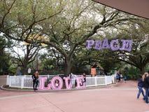 休斯敦动物园家庭假日 免版税库存图片