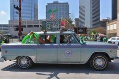 休斯敦圣帕特里克的游行 免版税库存图片