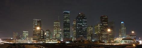 休斯敦地平线 库存图片
