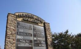 休斯敦堤坝圆顶场所,科多瓦,田纳西 免版税库存照片