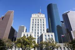 休斯敦市政厅 库存图片