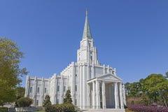 休斯敦得克萨斯寺庙 免版税库存图片