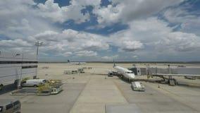 休斯敦机场 股票视频